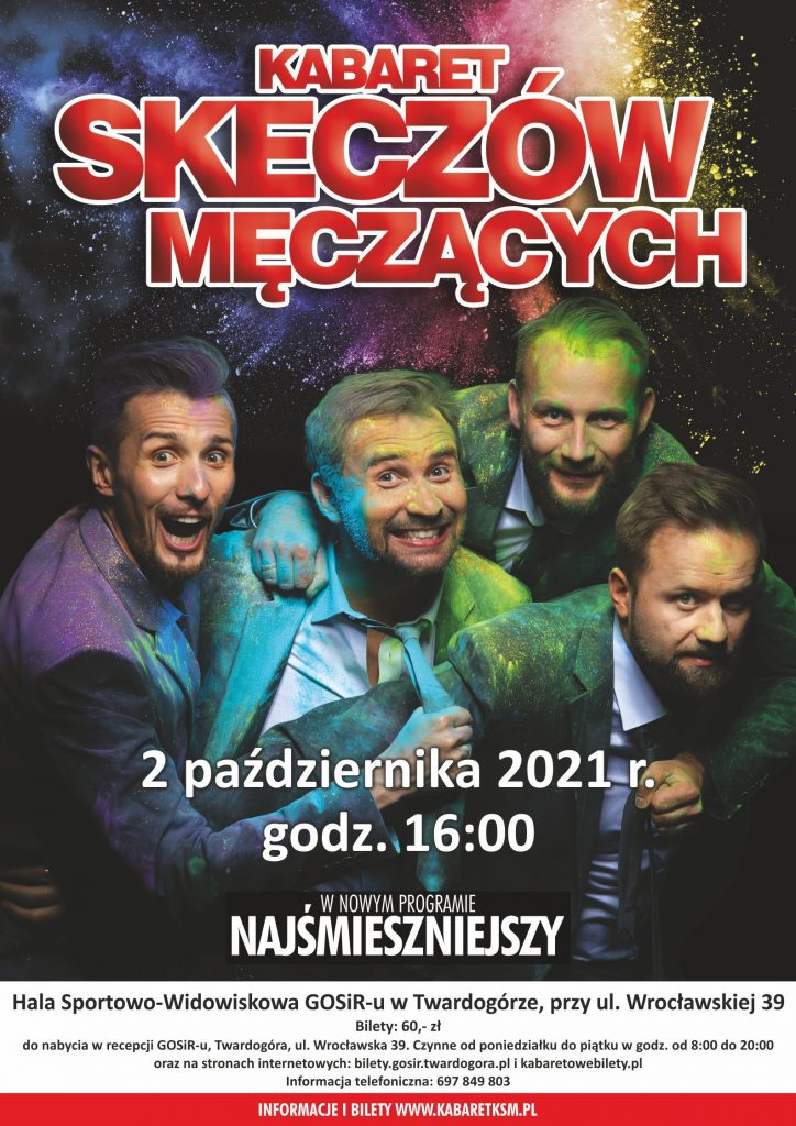 Kabaret Skeczów Męczących w Twardogórze.
